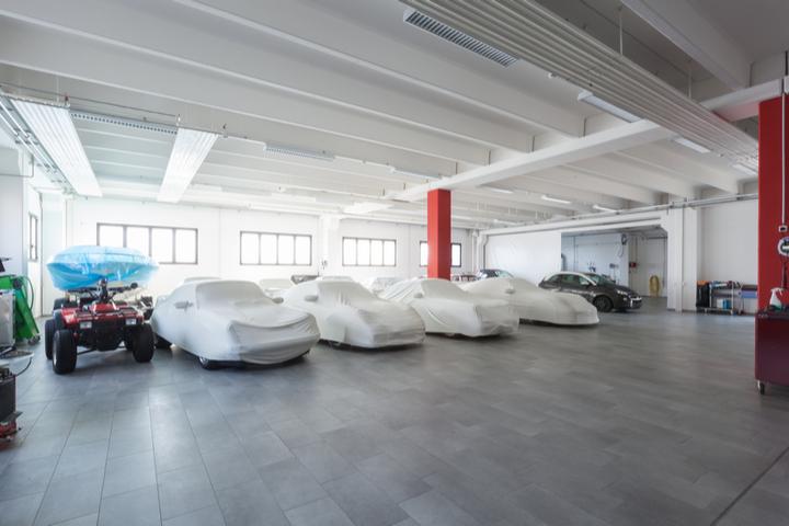 high end garage