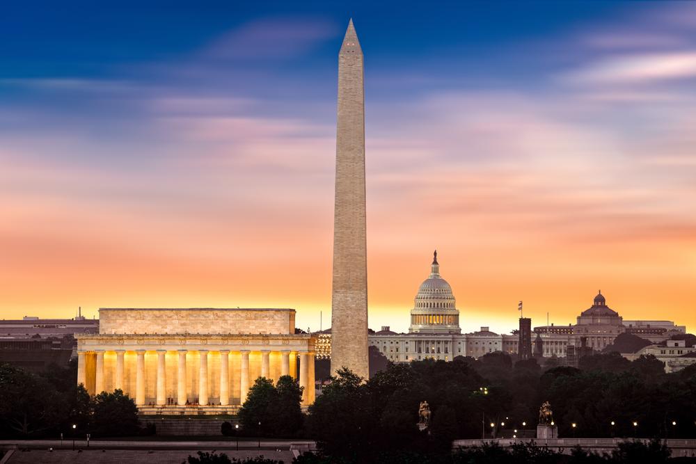 skyline of Washington, DC